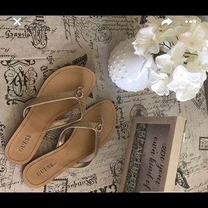 Guess slippers size 8